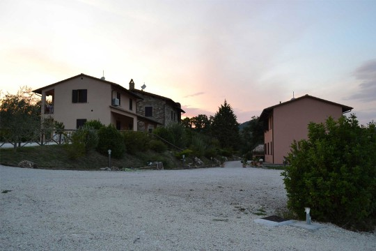 Relais Parco del Subasio | Agriturismo Assisi - Parcheggio