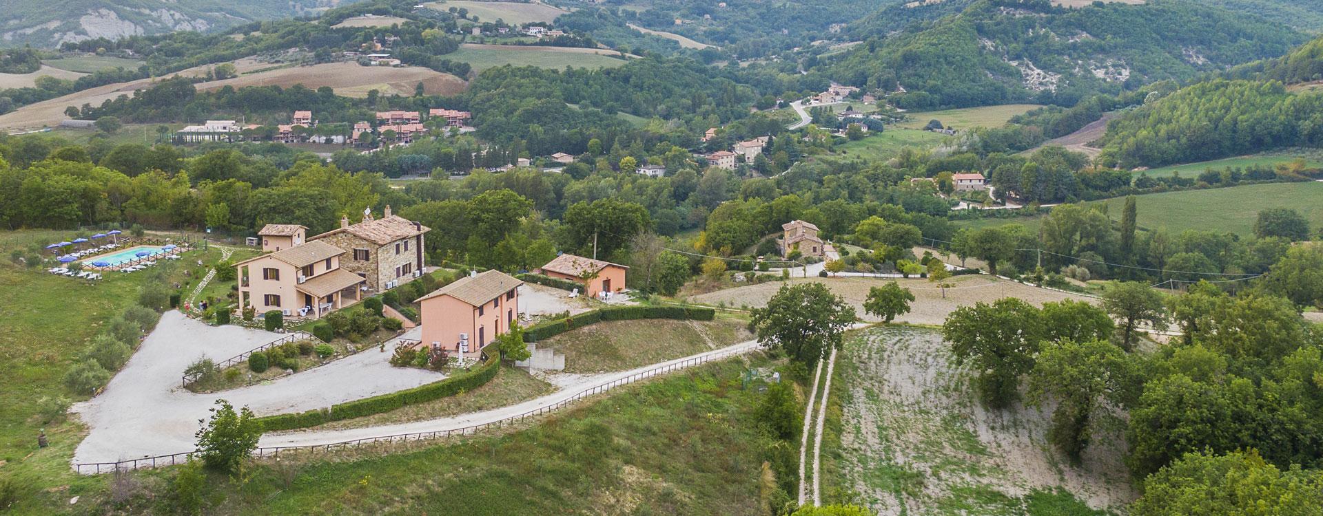 Agriturismo Assisi 'Relais Parco del Subasio' - All'interno del parco naturale del Monte Subasio