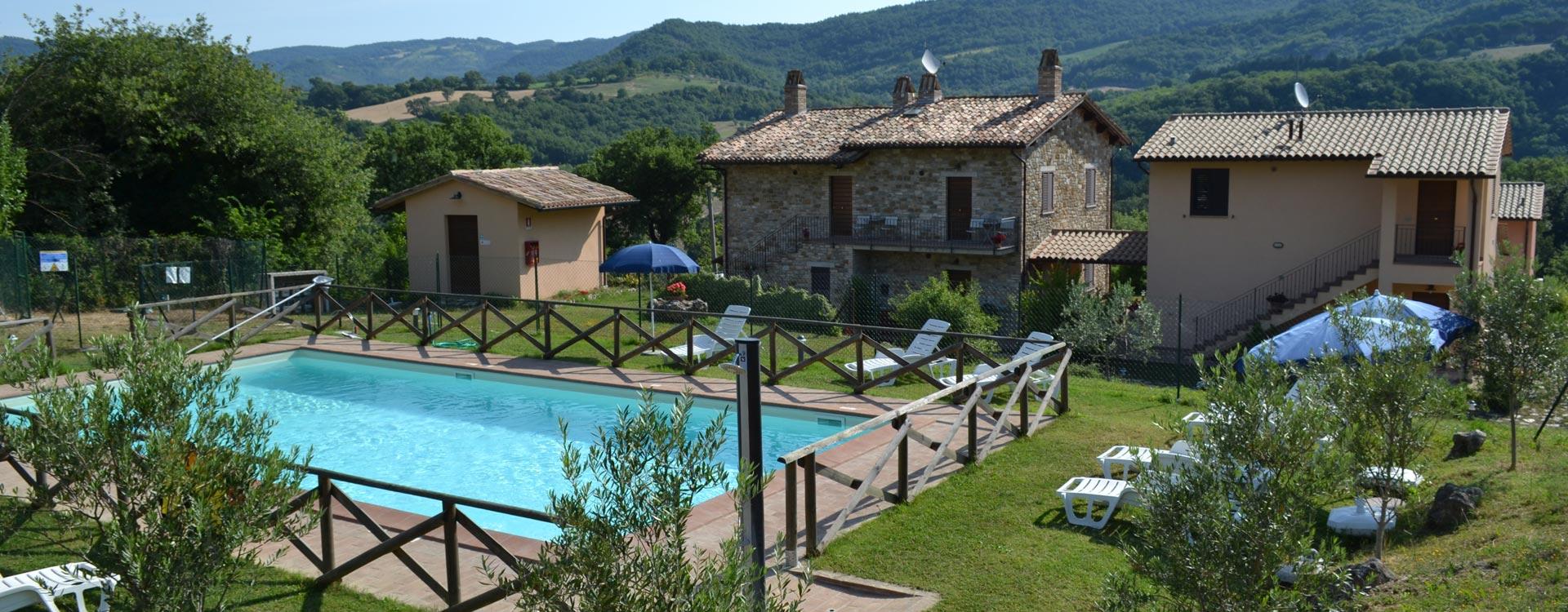 Agriturismo Assisi 'Relais Parco del Subasio' - Nuova struttura con ampi spazi interni ed esterni